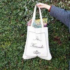 Brand LOGO tote bag- ブランドロゴトートバッグ -