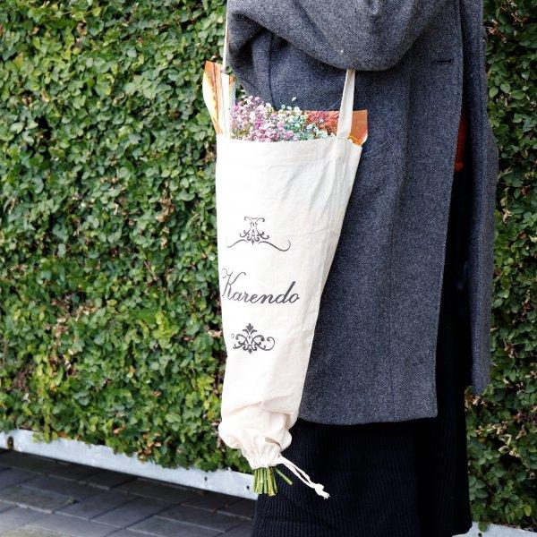 Flower ECO bag bouquet -フラワーエコバッグブーケ-_カスミ草ブーケSET