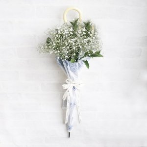 <img class='new_mark_img1' src='https://img.shop-pro.jp/img/new/icons13.gif' style='border:none;display:inline;margin:0px;padding:0px;width:auto;' />【生花 かすみ草】Umbrella Bouquet|かすみ草柄