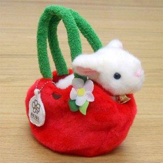 ぬいぐるみ お出かけユキちゃん 赤りんご