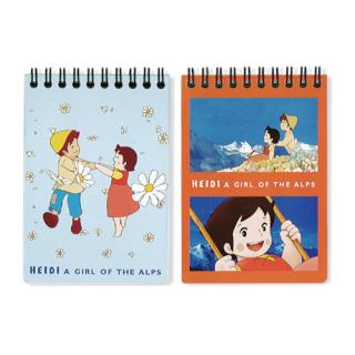 セミB7リングノート 2冊パック ブルー&レッド