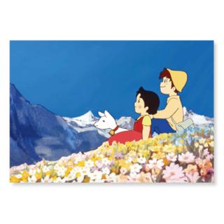 PCH-03 ポストカード 花咲く丘