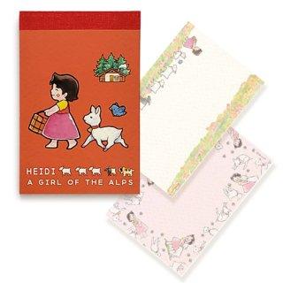 ミニミニメモ帳 水彩柄