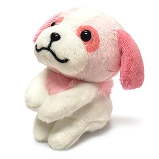 ぬいぐるみ おすわりヨーゼフ(ピンク)