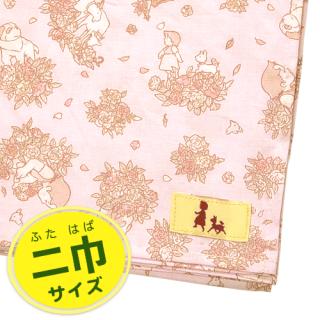 ふろしき ハイジ&ローズ柄 ピンク