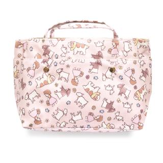 インザバッグ ちらし柄 ピンク