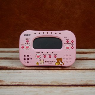 セイコー リラックマ チューナーメトロノーム ピンク