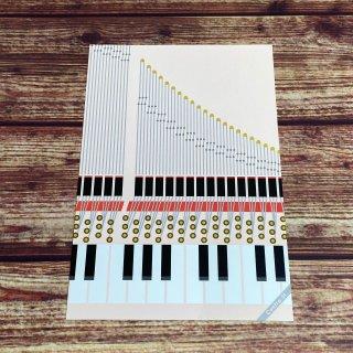 Contra-St ポストカード【ピアノ】