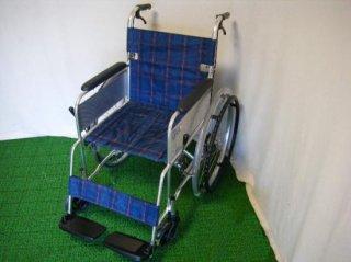 【中古車椅子】ミキ 自走式車椅子 ライト M-43K  紺  (WCMI220)