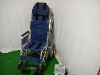 【中古ティルト車椅子】《Sランク品》日進医療器 ティルト車椅子 NAH-F1 (WCNS105)