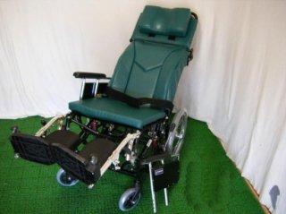 【中古車椅子】《Sランク品》カワムラサイクル リクライニング車椅子(介助) KX16-42EL (WCK303)