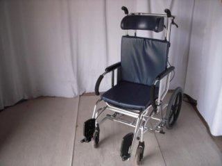 【中古車椅子】《Sランク品》松永製作所 リクライニング車椅子 MH-4R(WCMA310)