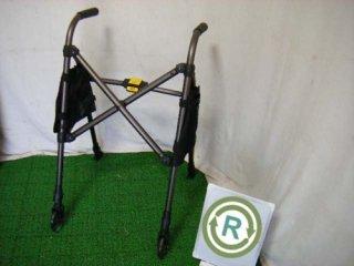 【中古歩行器】《Sランク品》星光医療器 アルコースタンダー  (HKSE118)