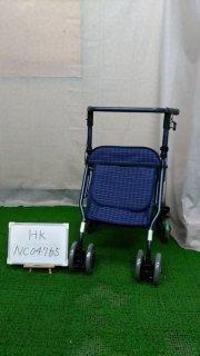 【Bランク品 中古 歩行器】島製作所 シンフォニーSP(青)(HK-NC04765)