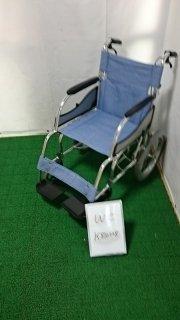 【Bランク品 中古 車椅子】松永製作所 介助式車椅子 MW-SL2(WC-K810228)