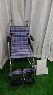 【Aランク 中古 車椅子】ミキ 介助式車椅子 SKT-1 (WC-8133)
