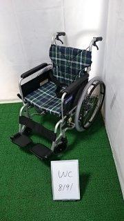【Aランク 中古 車椅子】カワムラサイクル 自走式車椅子 BM22-42SB-M (WC-8191)