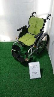 【Bランク品 中古 車椅子】松永製作所 自走式車椅子 ネクストコア NEXT-11B (WC-8197)