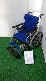 【Bランク品 中古 車椅子】カワムラサイクル 介助式車椅子 KZ20-38(WC-8203)