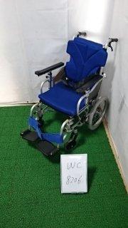 【Aランク品 中古 車椅子】カワムラサイクル 介助式車椅子 KZ16-38(WC-8206)