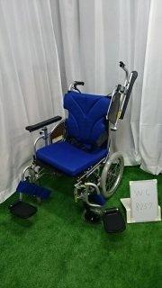 【Aランク品 中古 車椅子】カワムラサイクル 介助式車椅子 KZ16-42(WC-8257)