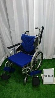 【Aランク品 中古 車椅子】カワムラサイクル 介助式車椅子 KZ20-38(WC-8258)