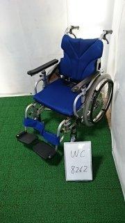 【Bランク品 中古 車椅子】カワムラサイクル 介助式車椅子 KZ20-38(WC-8262)