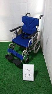 【Aランク品 中古 車椅子】カワムラサイクル 介助式車椅子 KZ16-40 (WC-8275)