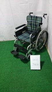 【Bランク 中古 車椅子】カワムラサイクル 自走式車椅子 BM22-42SB-M (WC-7862)