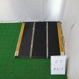 【Bランク 中古 スロープ】デクパック M.P.(87.5cm) グレー   (OT-8319)