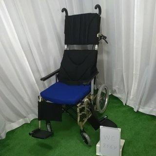 【中古 リクライニング車椅子 Bランク】カワムラサイクル リクライニング車椅子 介助式 KPF16-40(WC-8564)