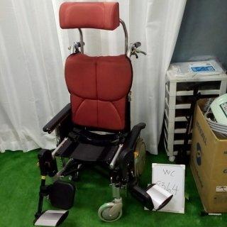 【中古 リクライニング車椅子 Bランク】松永製作所 リクライニング車椅子 オアシス OS-12TRS S&E付(WC-8364)