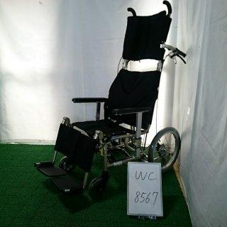 【中古 リクライニング車椅子 Bランク】カワムラサイクル リクライニング車椅子 介助式 KPF16-40LO(WC-8567)