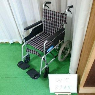 【Bランク 中古 車椅子】 日進医療器 介助式 車椅子 NC-2CB (WC-8701)