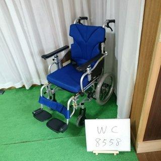 【Aランク品 中古 車椅子】カワムラサイクル 介助式車椅子 KZ16-38(WC-8558)