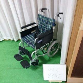 【Aランク 中古 車椅子】カワムラサイクル 自走式車椅子 BM16-42SB-M(WC-8392)