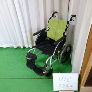 【Bランク品 中古 車椅子】松永製作所 介助式車椅子 ネクストコア NEXT-21B(WC-8244)