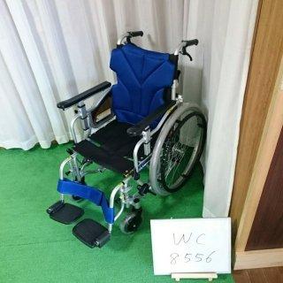 【Bランク 中古 車椅子】カワムラサイクル 自走式車椅子 KZM22-40 (WC-8556)