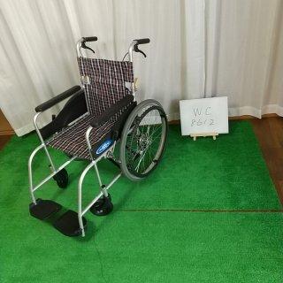【Bランク 中古 車椅子】日進医療器 自走式車椅子 NEO-1 (WC-8612)