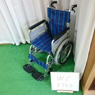 【Bランク 中古 車椅子】カワムラサイクル 自走式車椅子 KAK18-40 こまわりくん (WC-8732)