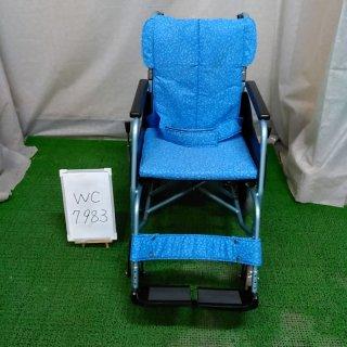 【Bランク品 中古 車椅子】松永製作所 介助式車椅子 REM-8(WC-7983)