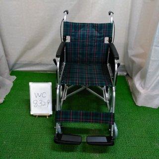 【Bランク 中古 車椅子】 ミキ 介助式 車椅子 エムワンMPC-46JD(WC-8329)