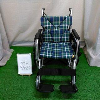 【Bランク 中古 車椅子】カワムラサイクル 自走式車椅子 BM22-42SB-M (WC-8482)