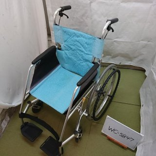 【Bランク 中古 車椅子】松永製作所 自走式車椅子 USL-1B (WC-5847)