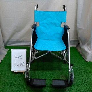 【Bランク品 中古 車椅子】松永製作所 介助式車椅子 USL-2B (WC-8280)