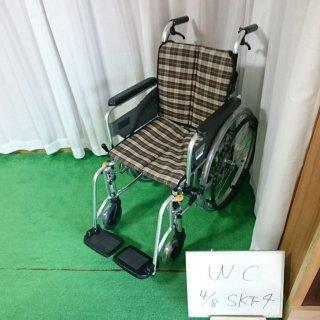 【Bランク 中古 車椅子】ミキ 自走式車椅子 SKT-4(WC-NC07451)