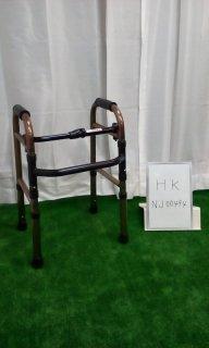 【Bランク品 中古 歩行器】 アクションジャパン 折りたたみ歩行器 C2021C(HK-NJ00494)