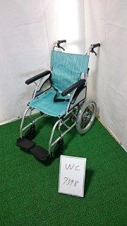 【Bランク品 中古 車椅子】カワムラサイクル 介助式車椅子 AYL16-40(WC-7348)