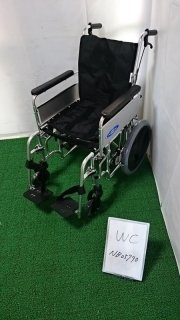 【Bランク品 中古 車椅子】日進医療器 介助式車椅子 EX-M3(WC-NB05790)