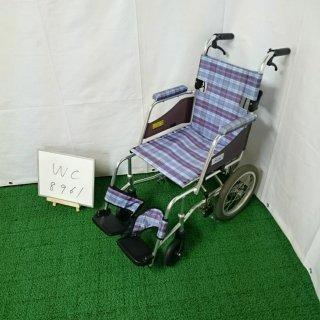 【Aランク 中古 車椅子】ミキ 介助式車椅子 SKT-1 (WC-8961)